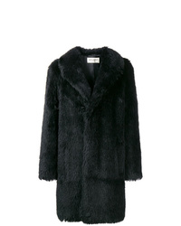 Saint Laurent Faux Fur Coat