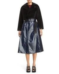 Faux fur crop coat medium 5169503