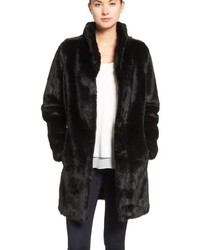 Faux mink fur coat medium 842134