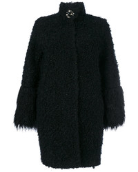 Fur effect midi coat medium 4470066