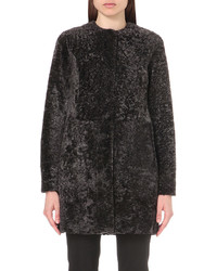 Drome Leather And Shearling Reversible Coat