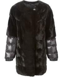 Liska padded sleeve fur coat medium 719264