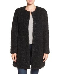 Reversible faux fur coat medium 842125