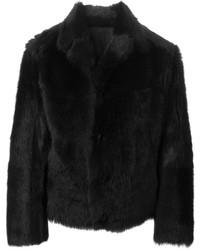 Reversible fur coat medium 137055