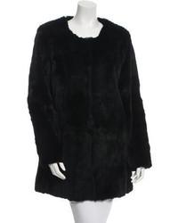 Elizabeth and James Sheared Fur Coat