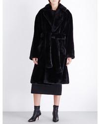 Wanda Nylon Ben Faux Fur Coat