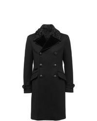 Prada Double Breasted Wool Coat