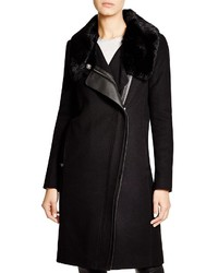 Vince Fur Collar Coat