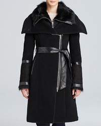 Mackage Isabel Shearling Collar Coat