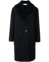 Marni Shearling Collar Coat