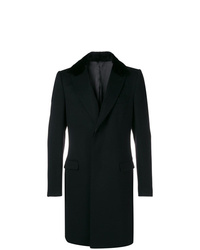 Dolce & Gabbana Oversized Mink Fur Collar Coat