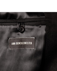 Ann Demeulemeester Slim Fit Brushed Coat