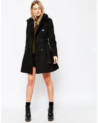 Asos Tall Skater Coat With Faux Fur Collar | Where to buy & how to ...