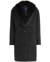 Steffen Schraut The Stylish Fur Collar Coat With Wool