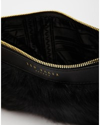 58be631677 ... Ted Baker Faux Fur Chain Cross Body Bag