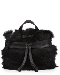 Marc by Marc Jacobs Fur Canteen Crossbody Bag