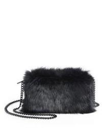 Loeffler Randall Fur Pouch Shoulder Bag