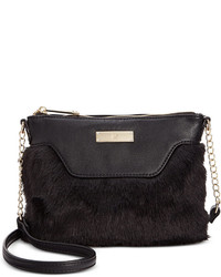 INC International Concepts Jaimee Faux Fur Crossbody Only At Macys