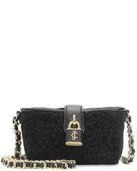Juicy Couture Faux Persian Lamb Mini Crossbody