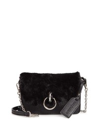 Sole Society Lebra Faux Fur Crossbody Bag