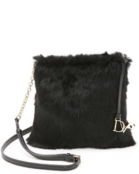 Diane von Furstenberg Voyage Fur Cross Body Bag