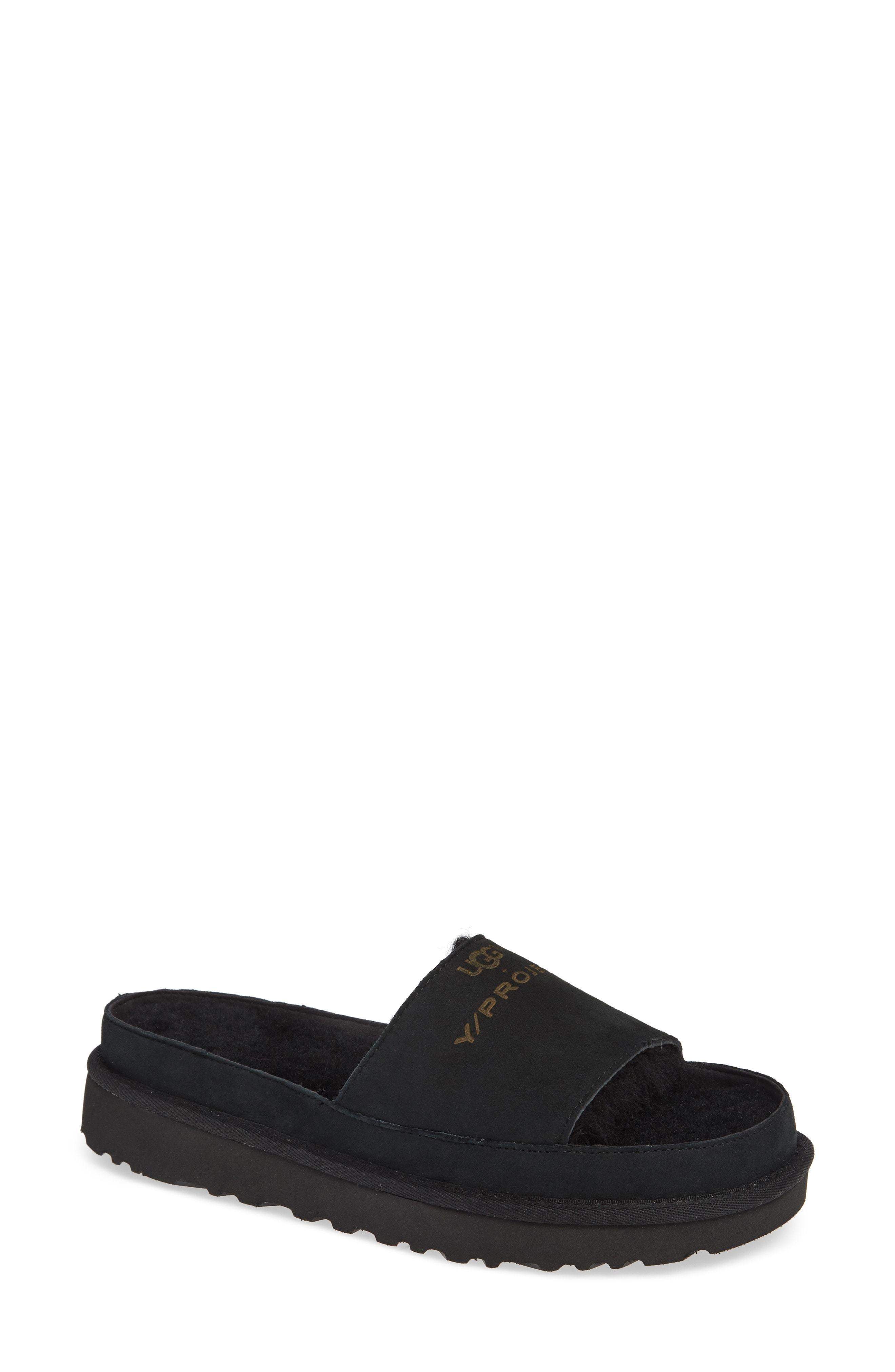 1b6791babd5 X Ugg Genuine Shearling Slide Sandal