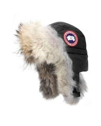 Aviator hat with genuine coyote medium 8697809