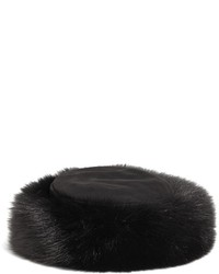 Brooks brothers fox fur hat medium 141145