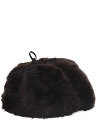 BCBGMAXAZRIA Faux Fur Trapper Hat