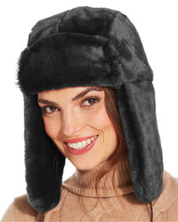 Nine West Faux Fur Trooper Hat