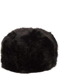 Imposter Faux Fur Cossack Hat Black