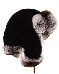 Inverni Fur Lined Snow Hat