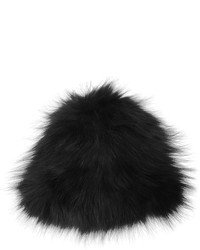 Yves Salomon Knitted Fox Fur Beanie