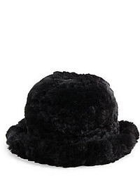 La fiorentina rex rabbit fur bucket hat medium 141146