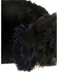 Diane von Furstenberg Rex Rabbit Fur Hat