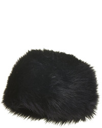 Topshop Soft Faux Fur Cossack Hat With Sateen Lining 72% Modacrylic 28% Acrylic Hand Wash Cold
