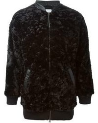 adidas Originals Artificial Fur Bomber Jacket