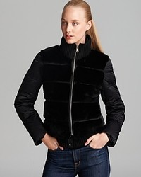 Andrew Marc Down Jacket Fur Front