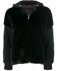Blancha Fur Detail Hooded Jacket