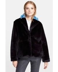 Marc by Marc Jacobs Boxy Faux Fur Jacket
