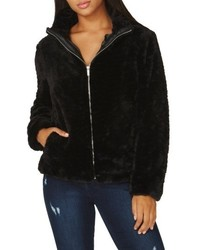 Crop faux fur jacket medium 6448706