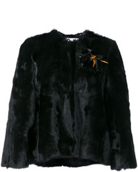 Cropped fur jacket medium 6448713