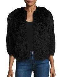 Theory Elstana 2 Faux Fur Coat