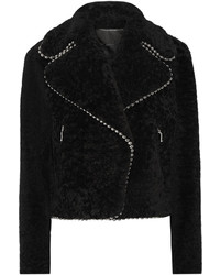 Alexander Wang Embellished Shearling Coat