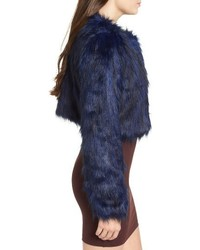 Fire Faux Fur Jacket