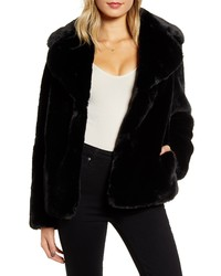 Kendall & Kylie Faux Fur Jacket