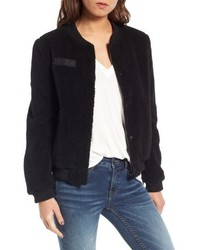 Faux shearling bomber jacket medium 6448693