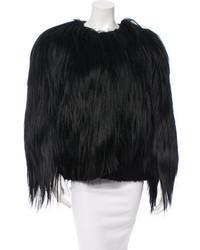 Proenza Schouler Goat Hair Fur Coat
