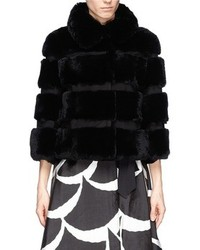 Nobrand Loretta Rabbit Fur Coat