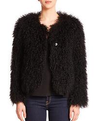 Elizabeth and James Maggie Fur Jacket